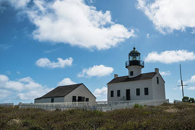 Photograph - Old Point Loma Lighthouse San Diego California 3 by Lawrence S Richardson Jr