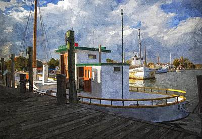 Mixed Media - Old Point - Watercolor Fx by Brian Wallace