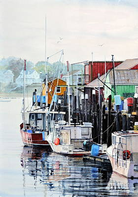 Painting - Old Port by Bill Hudson