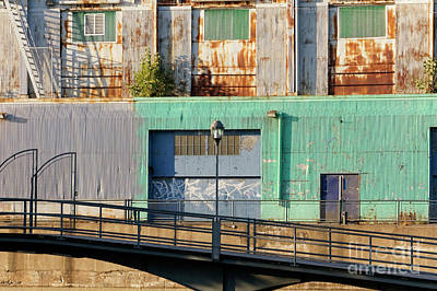 Photograph - Old Port Buildings Montreal by John  Mitchell