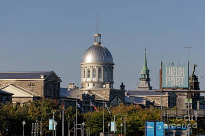 Photograph - Old Port Of Montreal by John  Mitchell