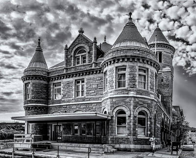 Photograph - Old Post Office And Court House In Augusta Maine by Ken Morris