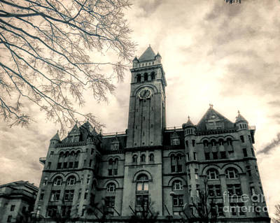 Photograph - Old Post Office Pavilion Washington Dc by Kerri Farley