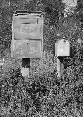 Photograph - Old Postal Box by Joseph C Hinson Photography