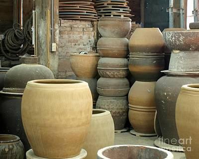 Ceramics Photograph - Old Pottery Workshop by Yali Shi