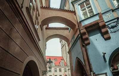 Photograph - Old Prague Architecture 1 by Jenny Rainbow