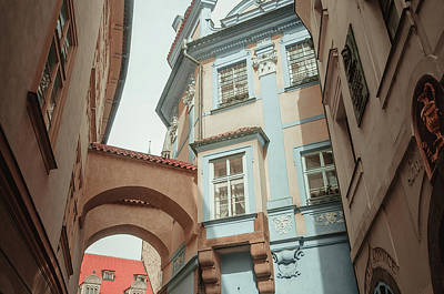 Photograph - Old Prague Architecture by Jenny Rainbow