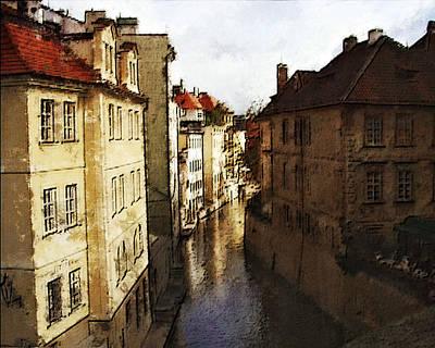 Old Prague Art Print by Jo-Anne Gazo-McKim