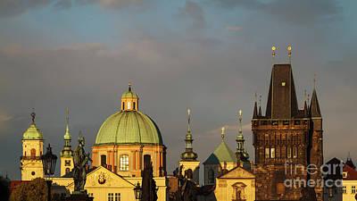 Photograph - Old Prague Skyline by Dennis Hedberg