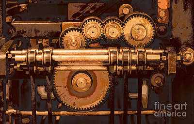 Digital Art - Old Printing Press by Ari Salmela
