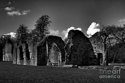 Photograph - Old Priory Ruins by Baggieoldboy