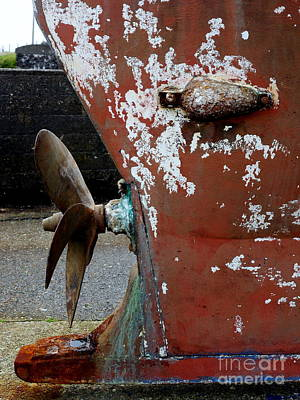Photograph - Old Propeller  by Lexa Harpell