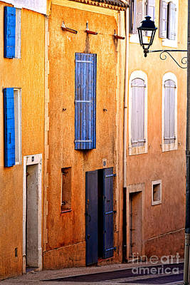 Old Provence Village Street Art Print