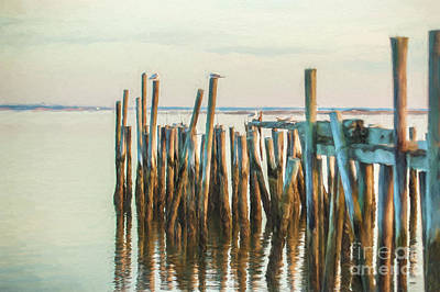 Old Provincetown Wharf Art Print