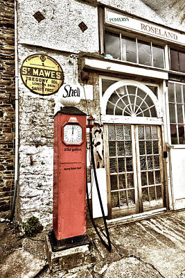 Photograph - Old Pump St Mawes by Terri Waters