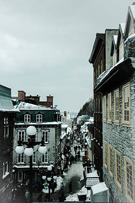 Photograph - old Quebec by Perggals - Stacey Turner