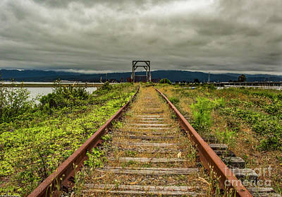 Photograph - Old Rail by Mitch Shindelbower
