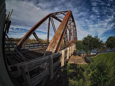 Pasta Al Dente - Old Railroad Bridge by Buck Buchanan