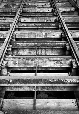 Old Rails At Mill City Museum Art Print
