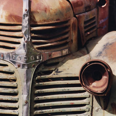 Old Ranch Truck Art Print by Art Block Collections