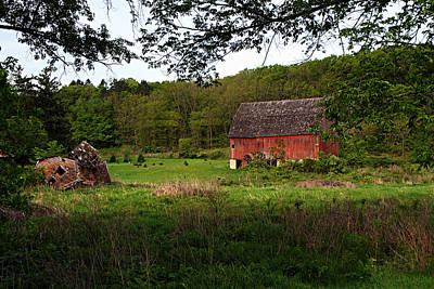 Old Red Barn 2 Art Print