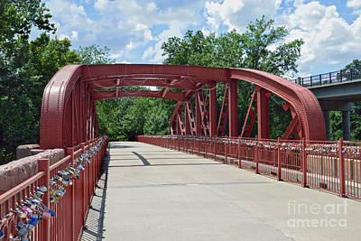 Pittsburgh According To Ron Magnes - Old Red Bridge, Kansas City, Missouri by Catherine Sherman