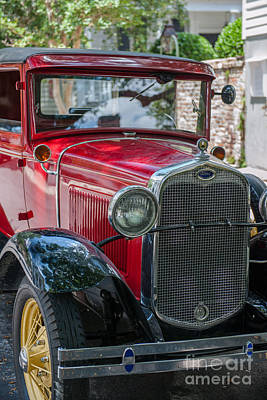 Photograph - Old Red Ford by Dale Powell