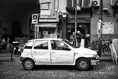 Photograph - Old Ride In Naples by John Rizzuto