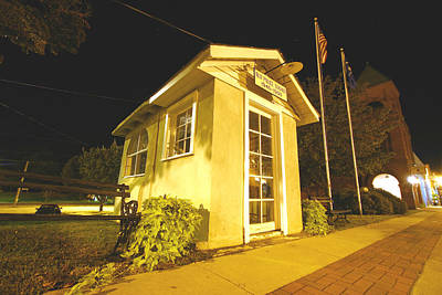 Photograph - Old Ridgeway Police Station by Joseph C Hinson Photography
