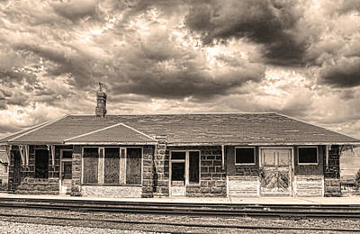Old Rio Grande Train Stop Art Print by James BO  Insogna
