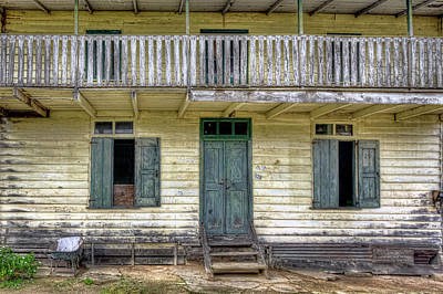 Photograph - Old River House by Nadia Sanowar