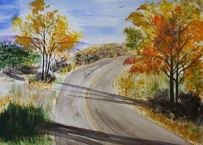 Painting - Old Road by Jamie Frier