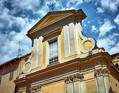 Photograph - Old Roman Building by Fine Art Photography Prints By Eduardo Accorinti