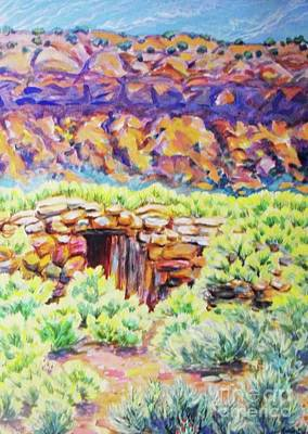 Digital Art - Old Root Cellar by Annie Gibbons