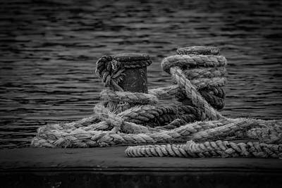 Photograph - Old Rope On Old River by Ray Congrove