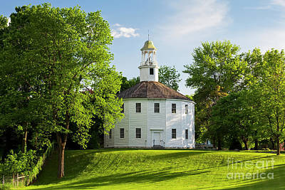 Photograph - Old Round Church Spring by Alan L Graham