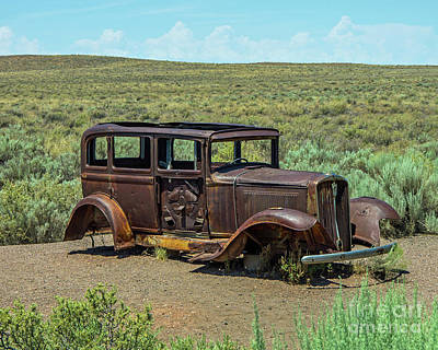 Photograph - Old Route 66 by Stephen Whalen