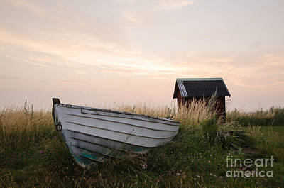Photograph - Old Rowing Boat by Kennerth and Birgitta Kullman