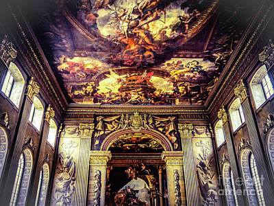 Royal Naval College Photograph - Old Royal Naval College 3 by Lexa Harpell