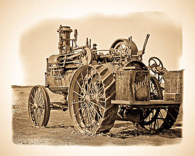 Photograph - Old Russell Tractor by Steve McKinzie