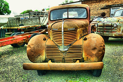 Photograph - Old Rust  by Jeff Swan