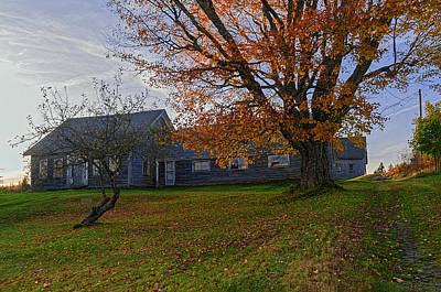 Photograph - Old Rustic Farmhouse by Marty Saccone