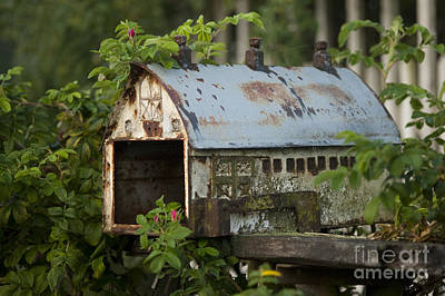 Photograph - Old Rusty Mailbox  by Jim Corwin