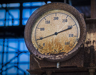 Photograph - Old Rusty Meter by Phil Cardamone