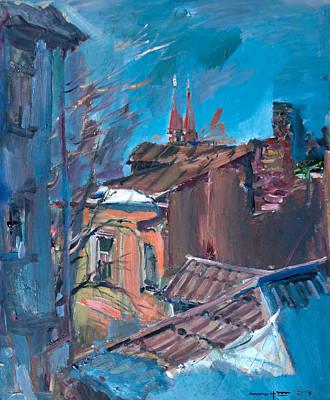 Old Rybinsk Original by Nikolay Malafeev