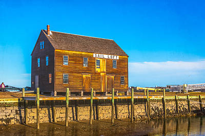 Photograph - Old Sail Loft, Salem Maritime National Historic Site, Salem, Massachusetts by Brian MacLean