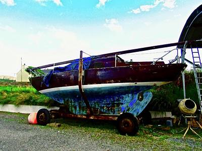 Photograph - Old Sailing Boat by Stephanie Moore