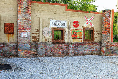 Photograph - Old Saloon Wall by Doug Camara