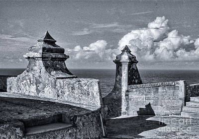 Old San Jaun Fort Art Print