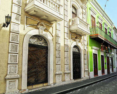 Beers On Tap - Old San Juan 4 by Mitch Cat